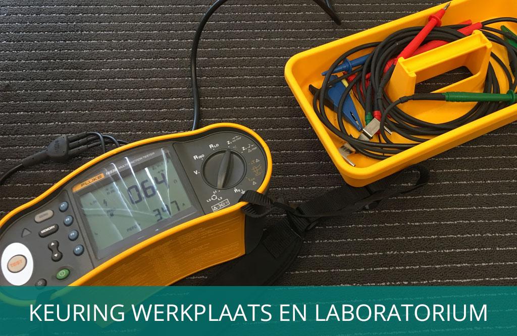 keuring werkplaats en laboratorium